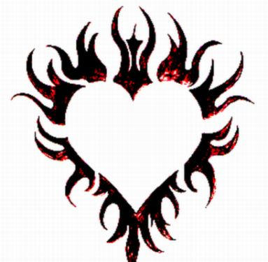 flaming heart tattoo by spiked silverpsycho6 on deviantart. Black Bedroom Furniture Sets. Home Design Ideas