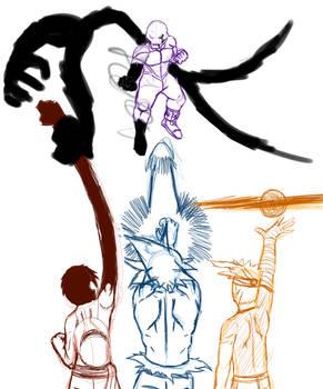 Sketch #3 Crossover idea
