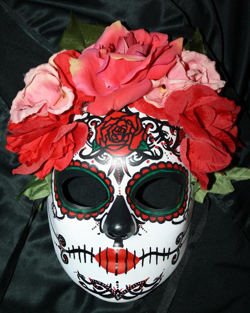 Custom Sugar, Maskmakeup Ideas, Sugar Skull, Of The, Dead ...