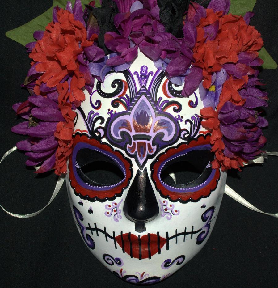 Belly dancer's Sugar Skull Mask 4 by LilBittyFish on ...