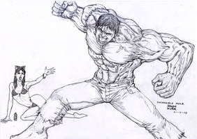 Hulk Jealous by deemonHunter360