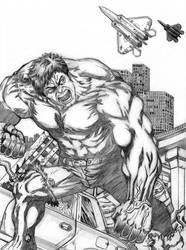 Planes Leave Hulk Alone by deemonHunter360