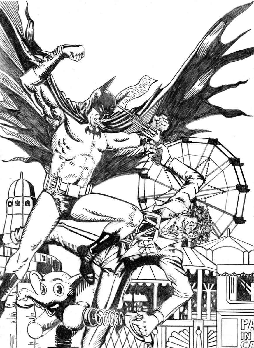 Batman VS Joker by deemonHunter360 on DeviantArt