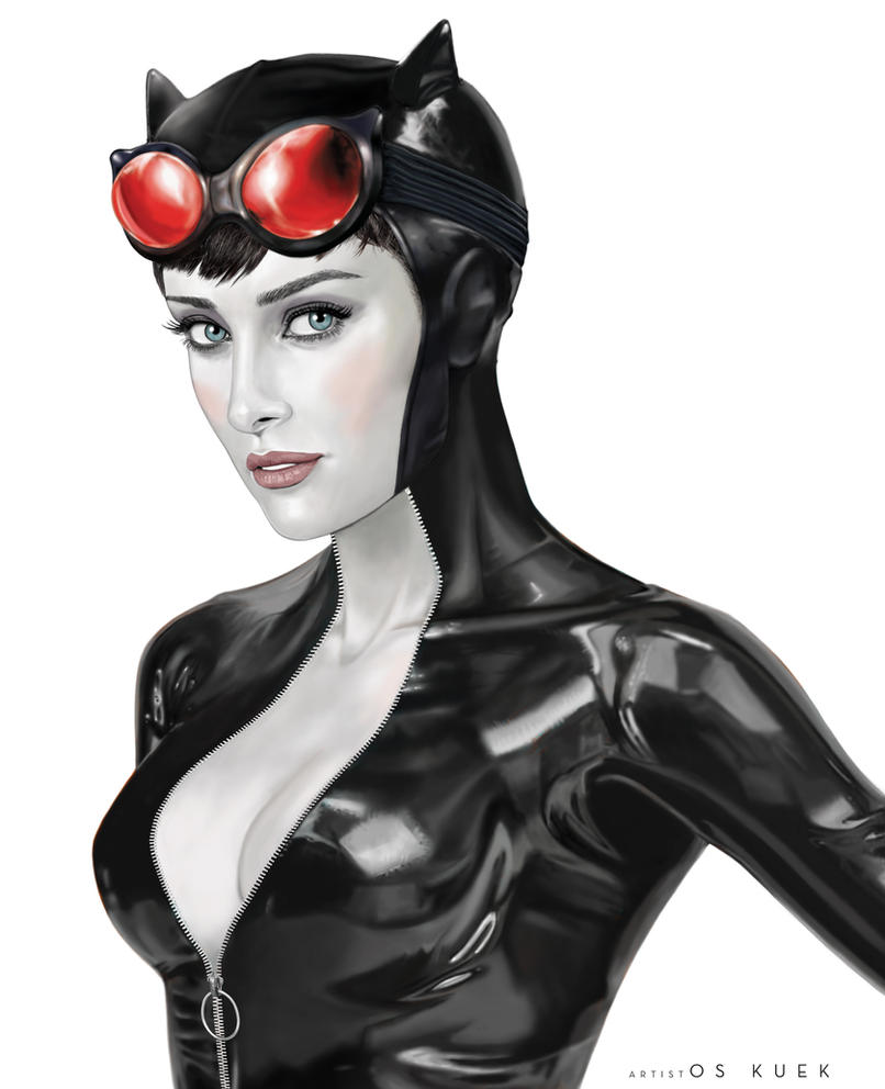 The Women Of Dc Comics Ink In Adam Withers S Dc Comics: Selina Kyle Aka Catwoman By DeemonHunter360 On DeviantArt