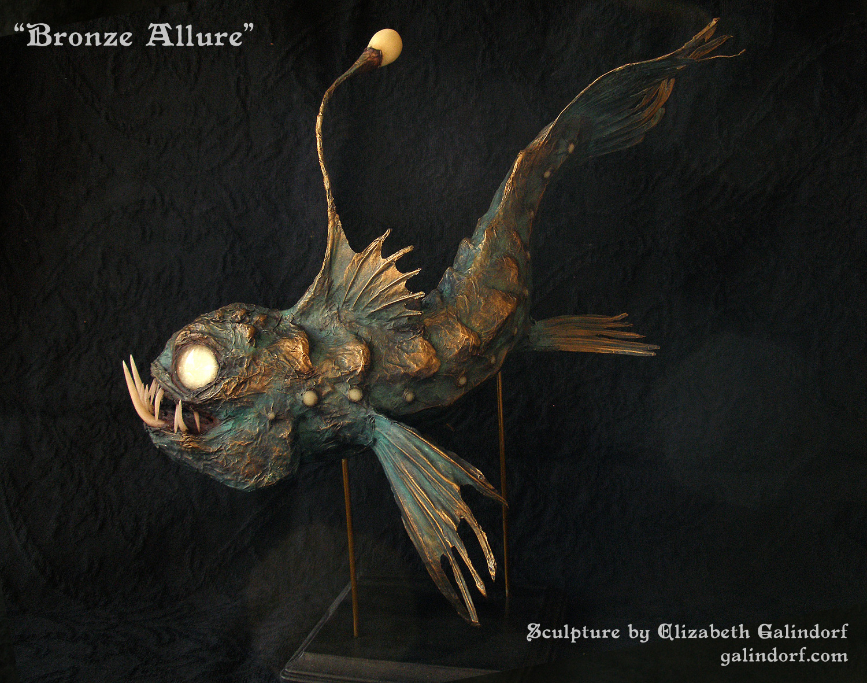 Bronze Allure Left Side by Galindorf