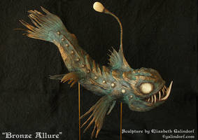 Bronze Allure Right Side by Galindorf