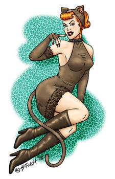 Here Kitty Kitty - PinUp