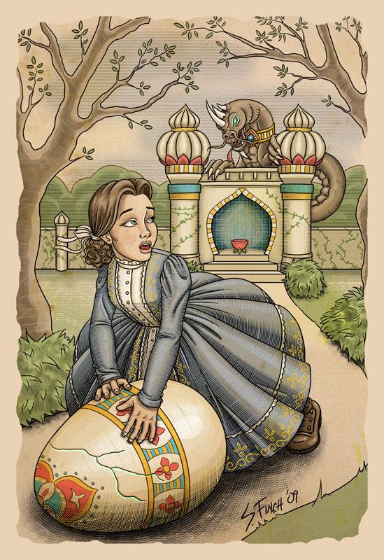 The Dragon's Egg by Shannanigan