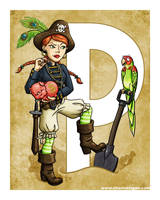 P is for Pirate by Shannanigan