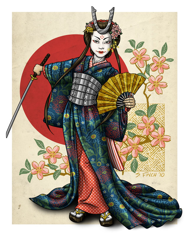 GDG - Geisha Samurai