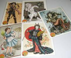 SDCC 2011 Prints by Shannanigan