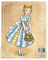 Polka Dot Lemon Cake by Shannanigan