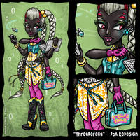 MH Fan Art - DoA Redesign by Shannanigan