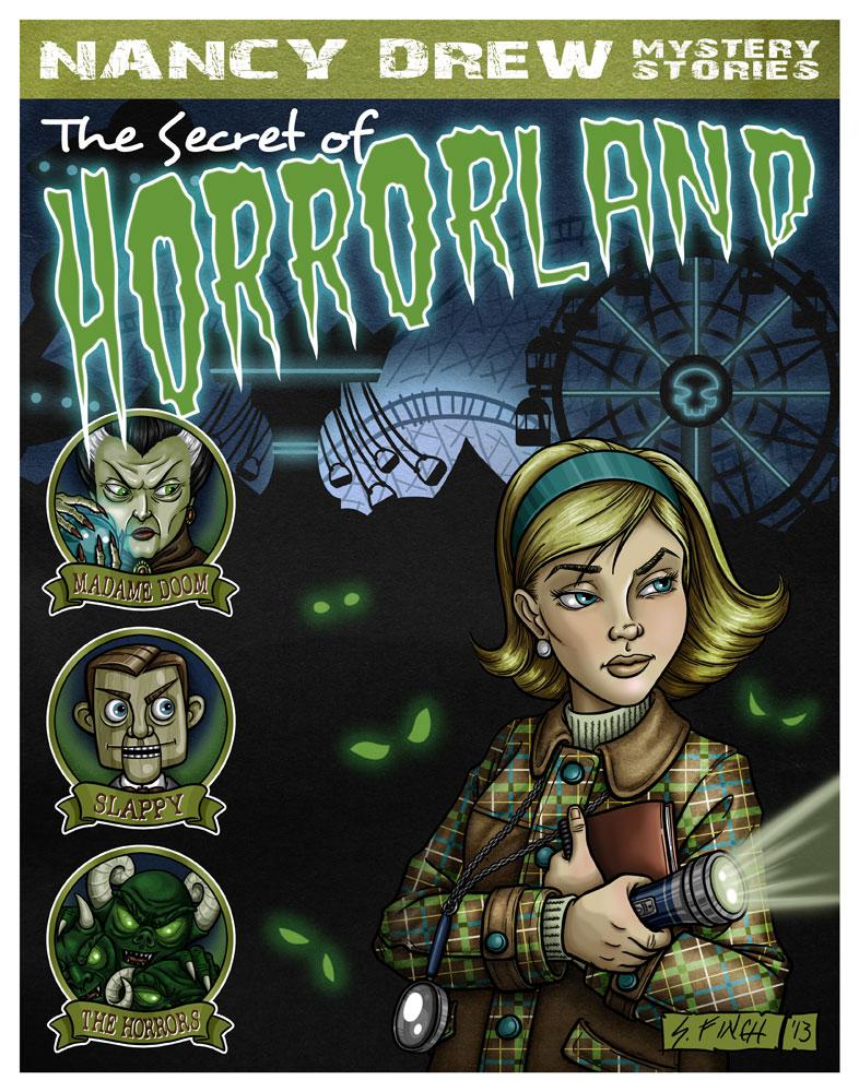 G88 - Nancy Drew goes to Horrorland by Shannanigan
