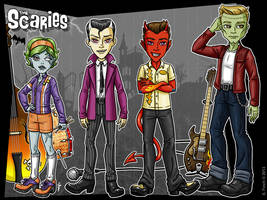 The Scaries - Band Lineup