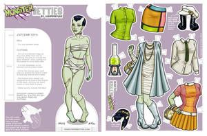 Paper Betties - Fritzi Teaser 2 by Shannanigan