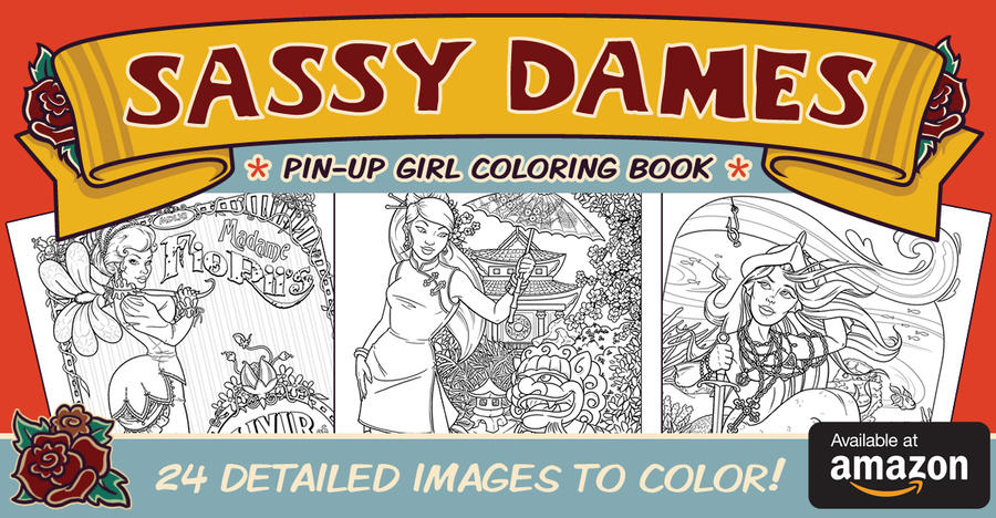 Coloring Book... Now Available!