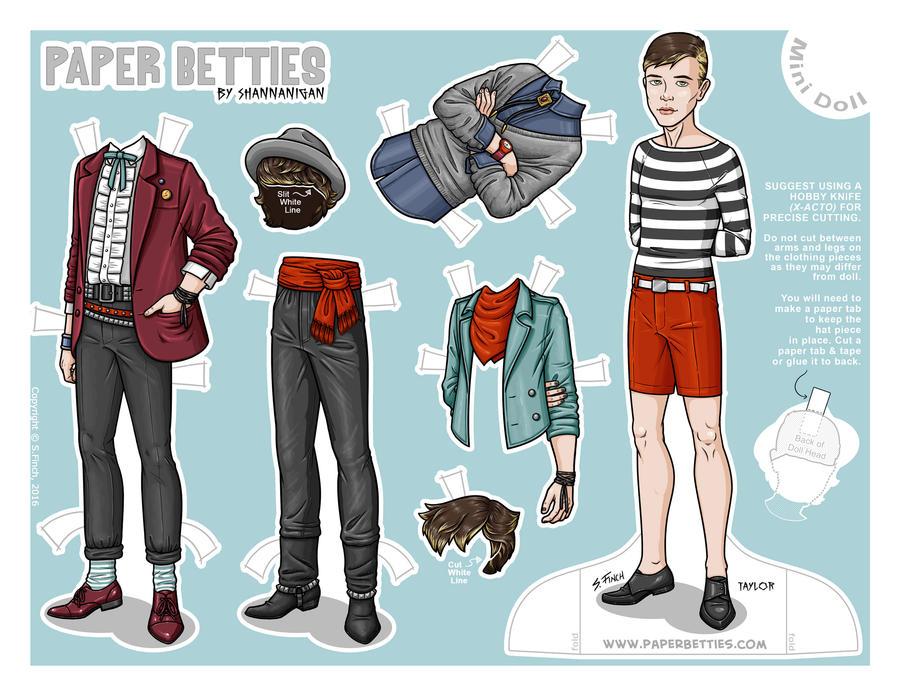 Paper Betties Mini - Taylor