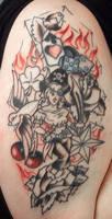 My Tattoo - Linework by Shannanigan