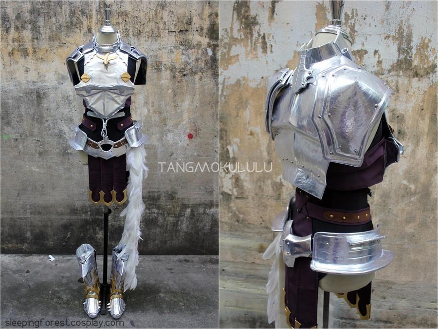 Lightning FF XIII-2 Costume by Tangmokululu