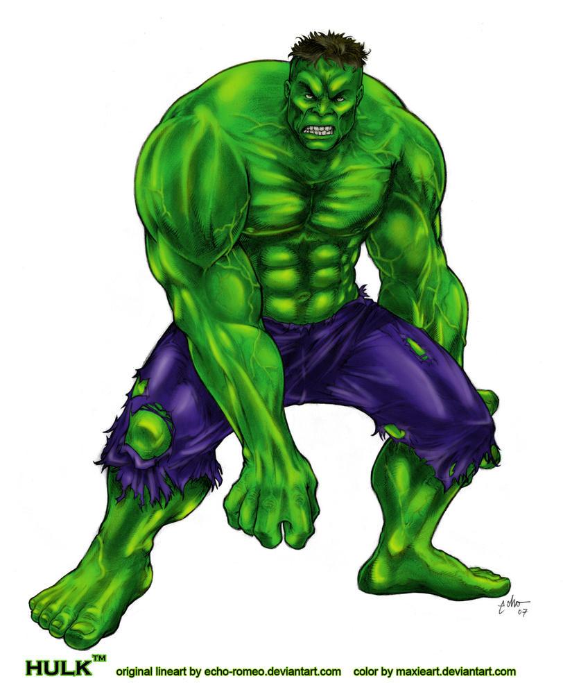 Hulk Color by MaxieArt on DeviantArt