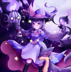Purple lover Umai wants to battle!