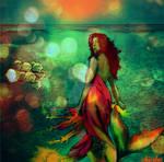 flame mermaid by Lolita-Artz