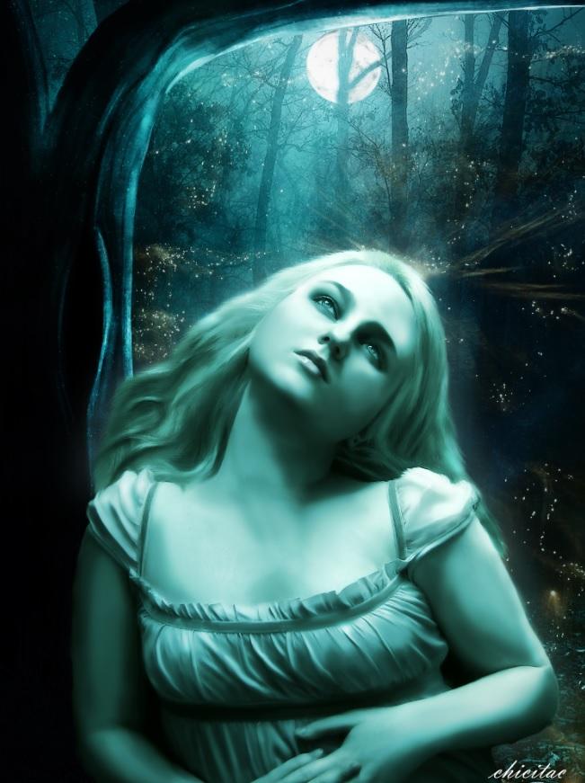 The Moon by Lolita-Artz