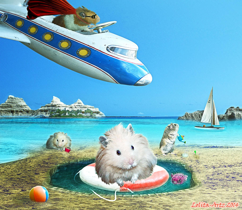 Hamsters just want to have fun by Lolita-Artz