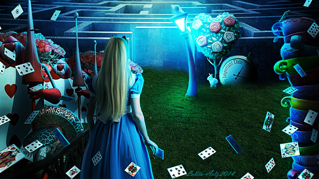Wonderland (wallpaper 1920X1080 dowload for free!) by Lolita-Artz