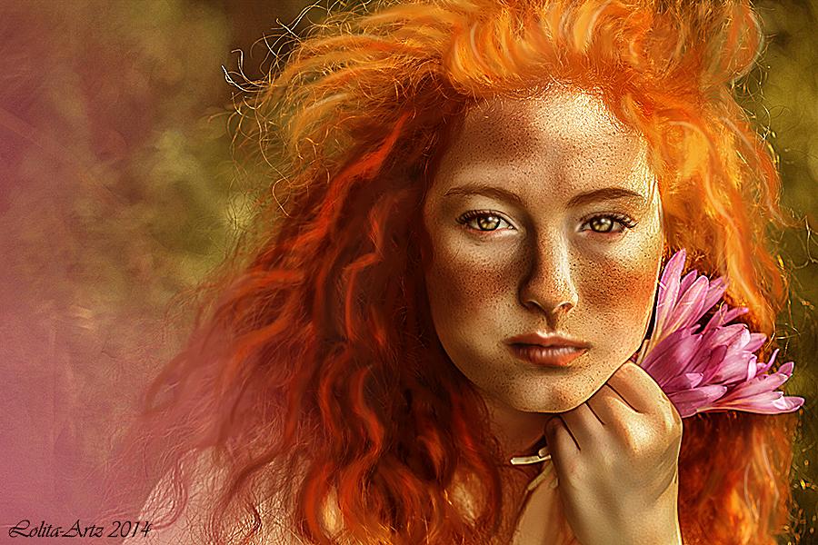 red hair by Lolita-Artz