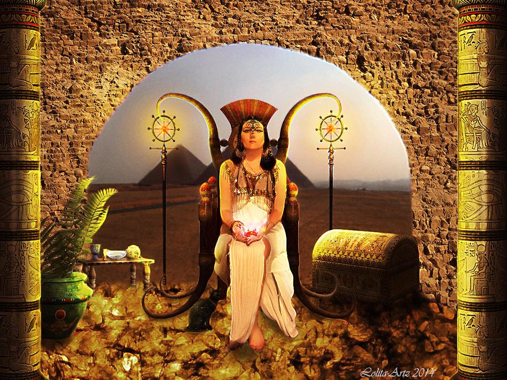 Queen of Egypt by Lolita-Artz
