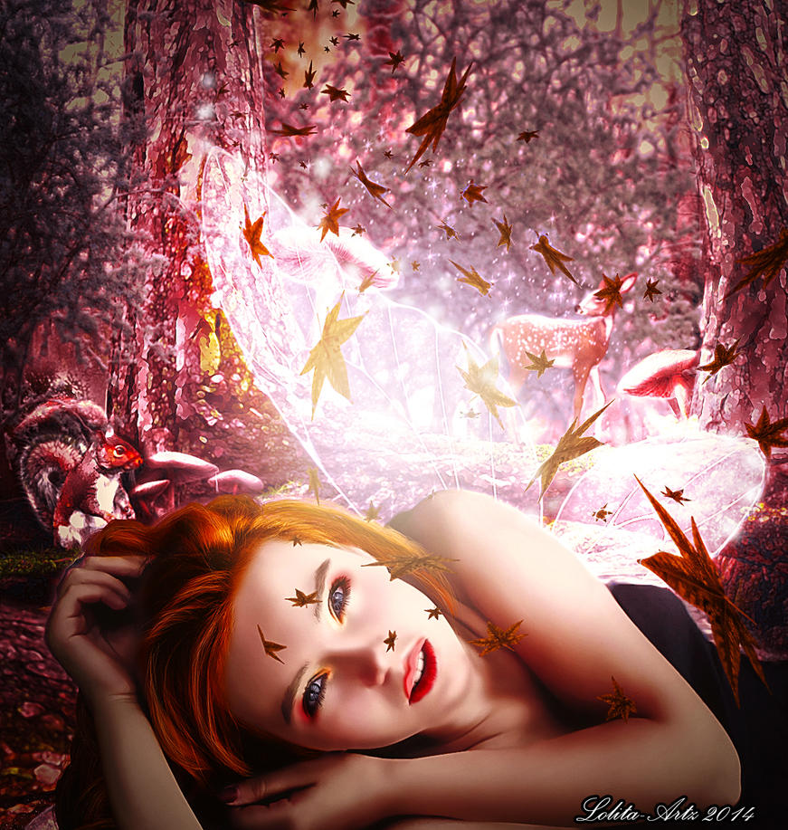forest fairy by Lolita-Artz