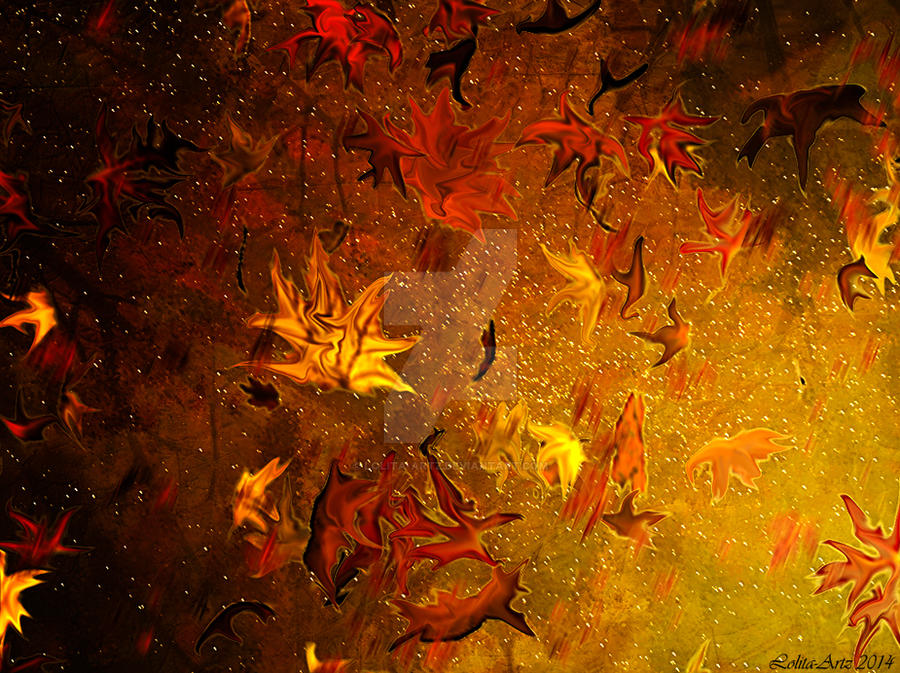 Autumn abstract by Lolita-Artz