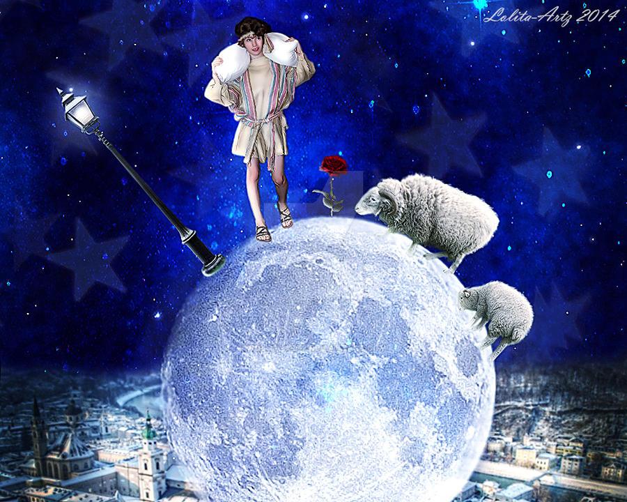 The shepherd boy by Lolita-Artz