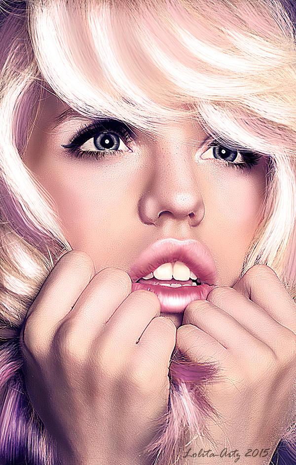 Pink Fear by Lolita-Artz