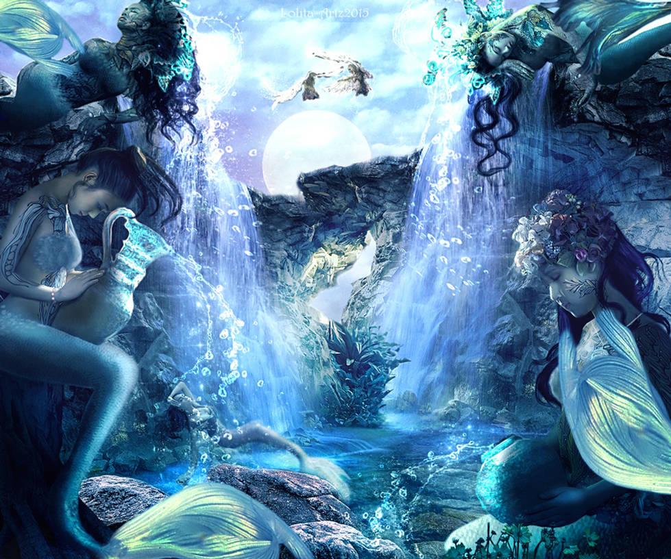 Tethys sisters by Lolita-Artz