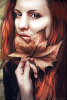 Autumn Portrait by Lolita-Artz