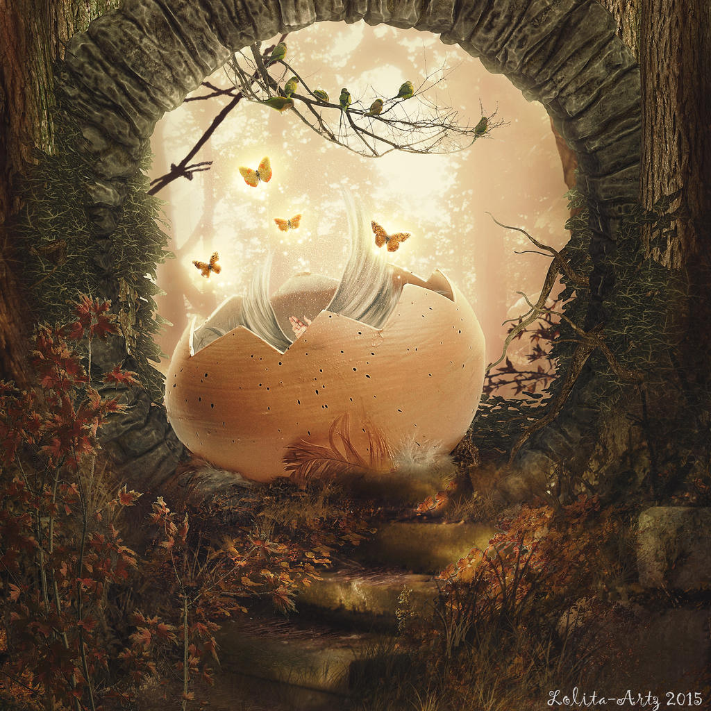 New Born (available for prints) by Lolita-Artz