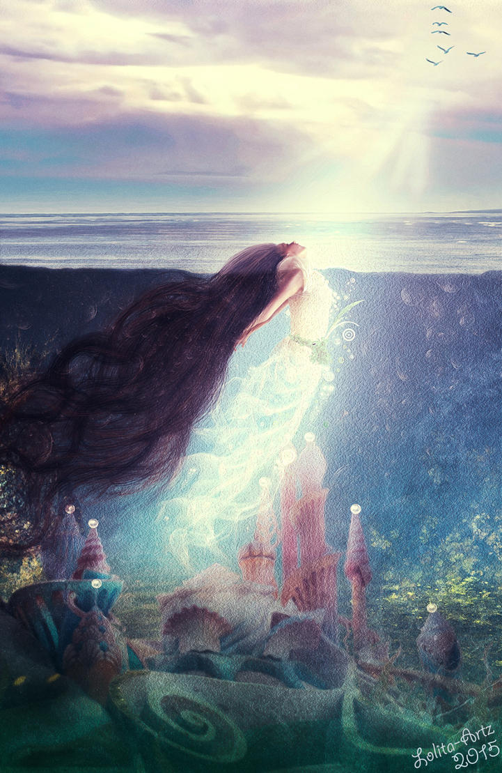 Breathe In (prints available) by Lolita-Artz