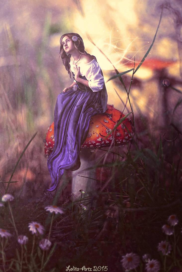 Autumn's Aura(prints available) by Lolita-Artz
