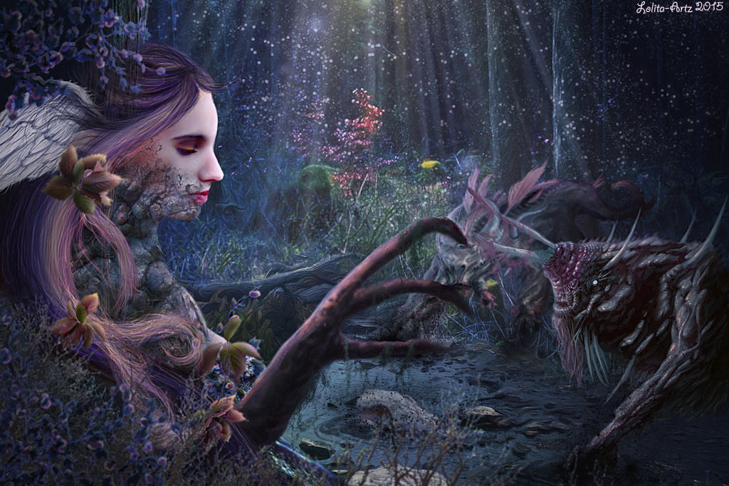 monsters paradise SharpenedEdge Contest (prints) by Lolita-Artz