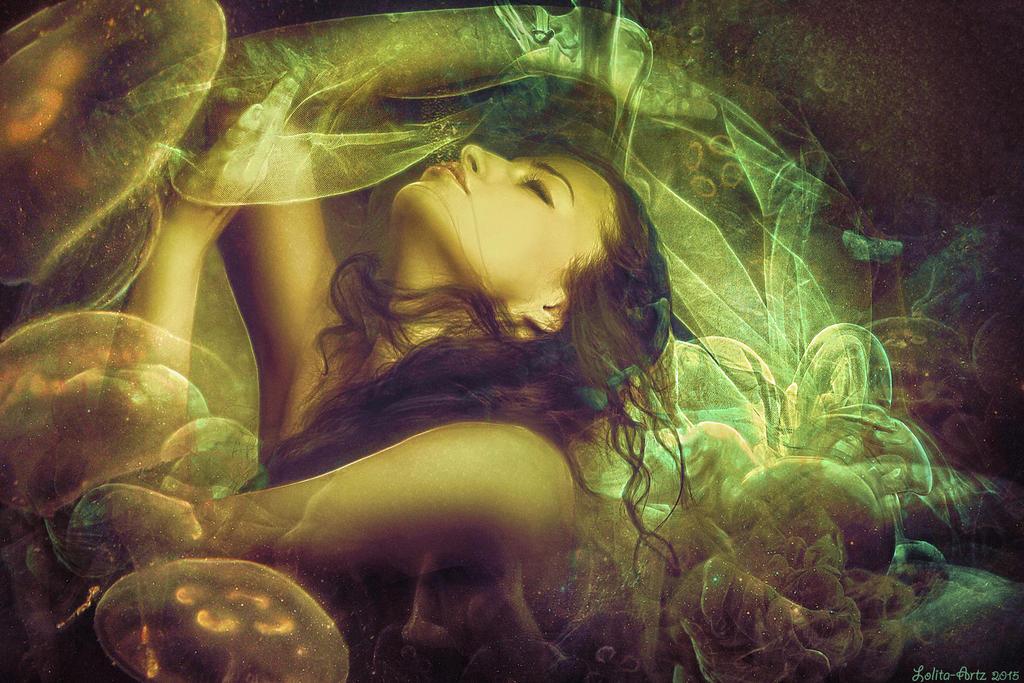 I'm fading away (PRINTS) by Lolita-Artz