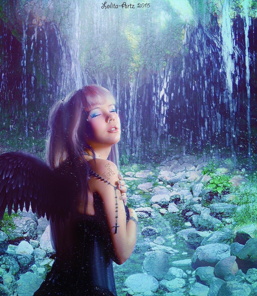 Peace and love (PRINTS) by Lolita-Artz