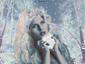 Snow Queen Portrait