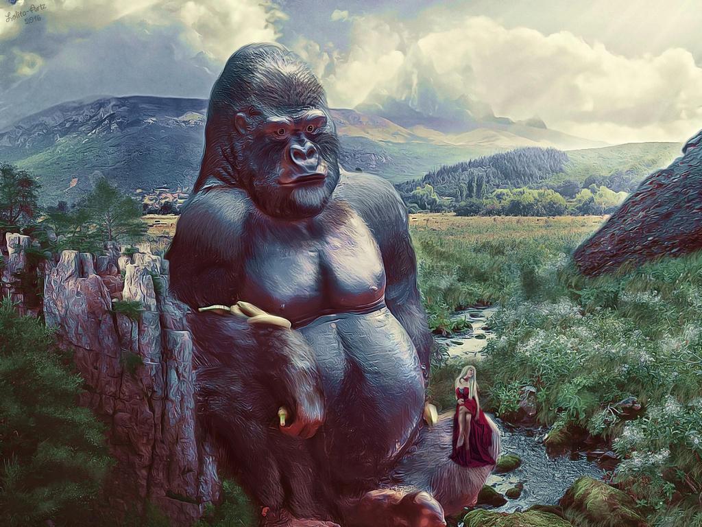 King Kong by Lolita-Artz