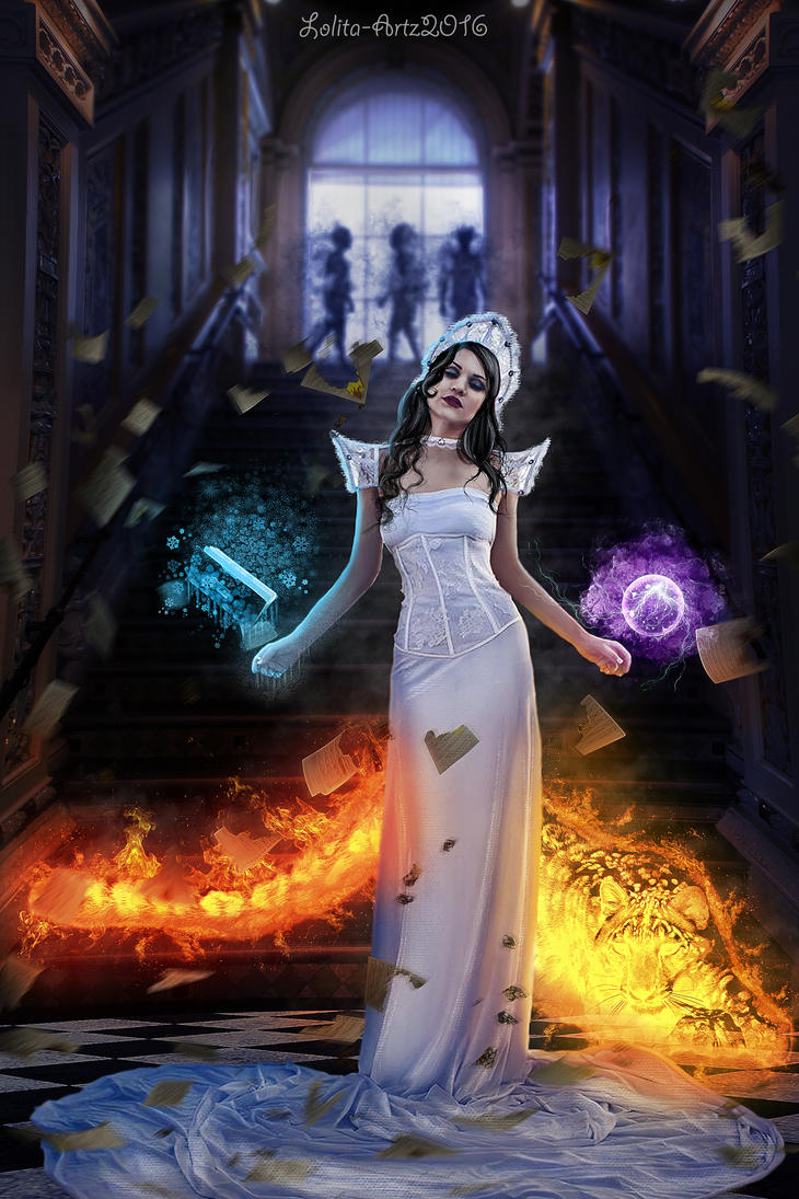 thousand shades of magic by Lolita-Artz