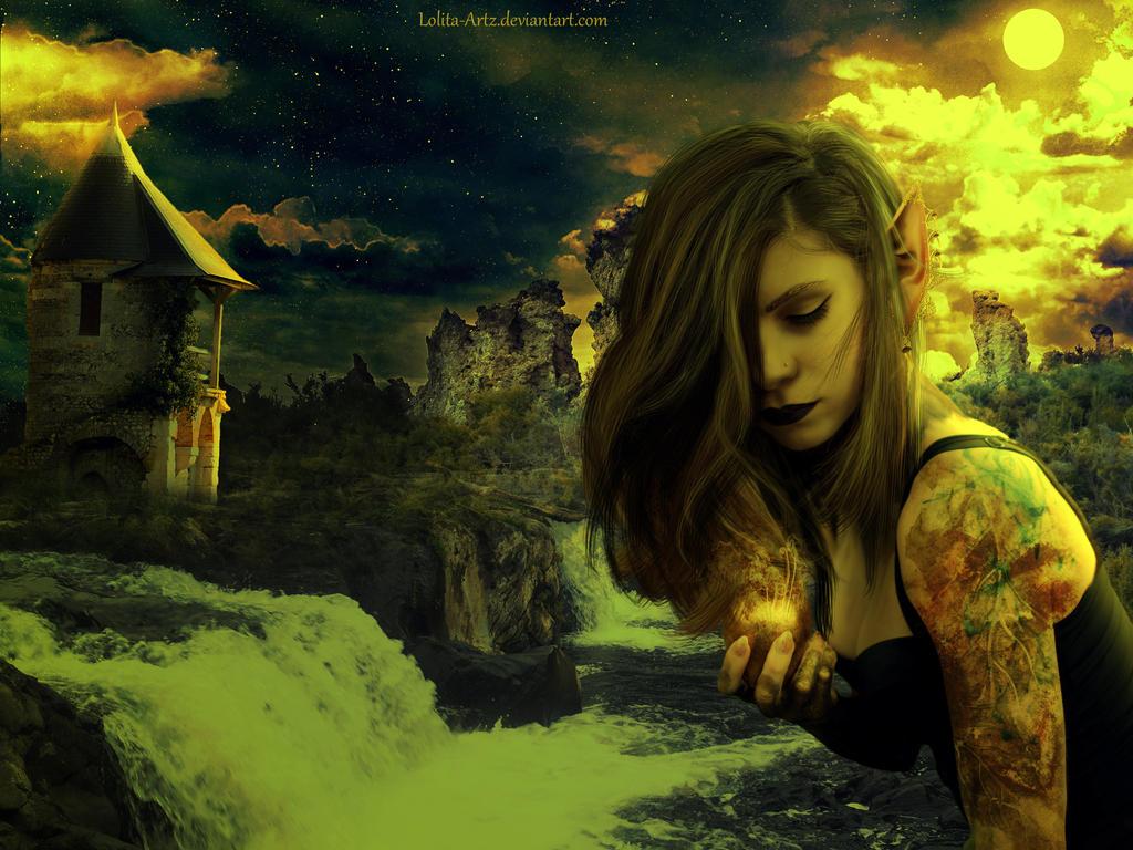 poisonous apple by Lolita-Artz