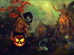 Alone For Halloween by Lolita-Artz