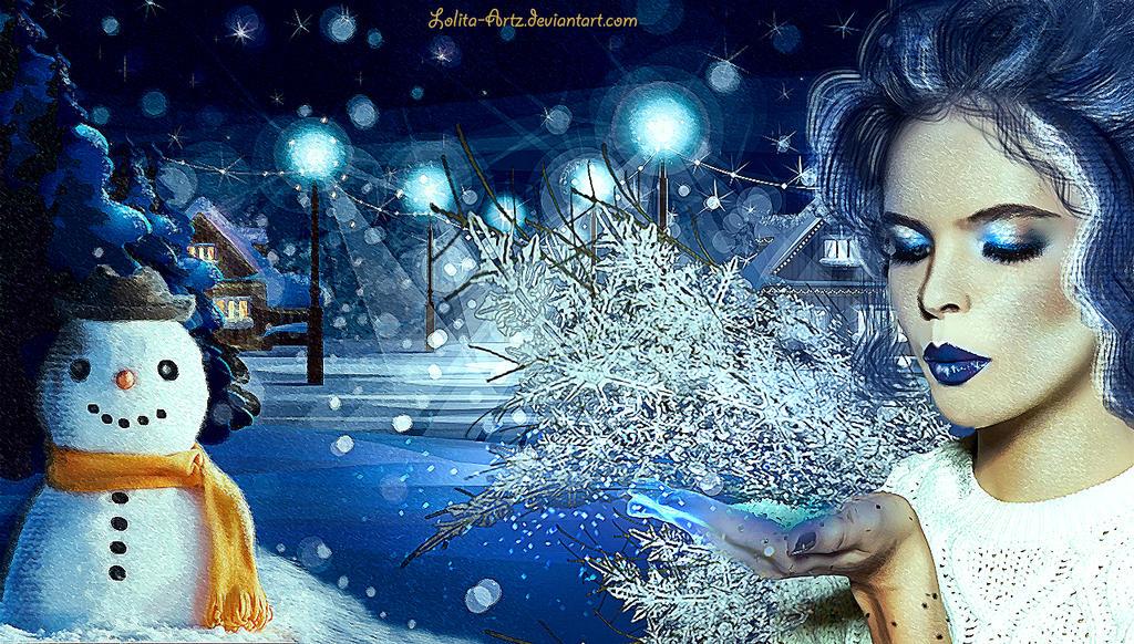 Winter Fae by Lolita-Artz